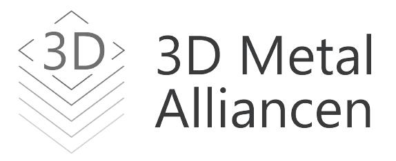 Logo for 3D Metal alliancen, udstiller på Spånligaen 2020